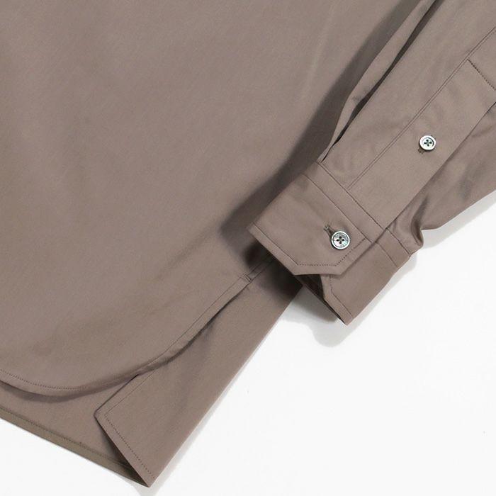 【SALE 40】TICCA ティッカ スクエアビッグシャツ レディース 21春夏 WHITE CREAM PINK MOCA TBAS-101|exclusive|12