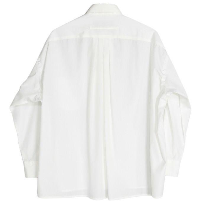 【SALE 40】TICCA ティッカ スクエアビッグシャツ レディース 21春夏 WHITE CREAM PINK MOCA TBAS-101|exclusive|03