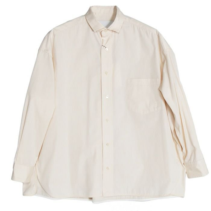 【SALE 40】TICCA ティッカ スクエアビッグシャツ レディース 21春夏 WHITE CREAM PINK MOCA TBAS-101|exclusive|04