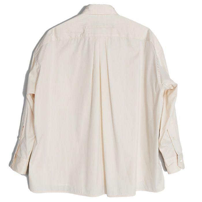 【SALE 40】TICCA ティッカ スクエアビッグシャツ レディース 21春夏 WHITE CREAM PINK MOCA TBAS-101|exclusive|05