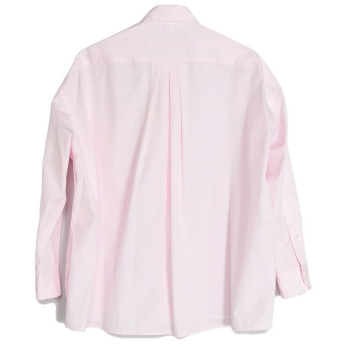 【SALE 40】TICCA ティッカ スクエアビッグシャツ レディース 21春夏 WHITE CREAM PINK MOCA TBAS-101|exclusive|07