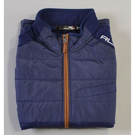 Final Sale! POLO RalphLauren RLX ポロ ラルフローレン RLX Cool Wool Vest FRENCH NAVY