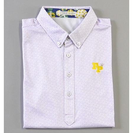 Sale !!!Fairy Powder フェアリーパウダー FP19-1105 FP Shadow Logo Polo White/Purple