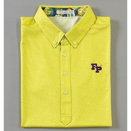 Sale !!!Fairy Powder フェアリーパウダー FP19-1105 FP Shadow Logo Polo Yellow