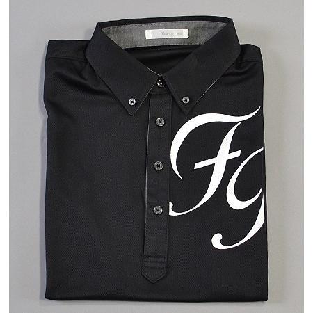 Sale !!!Fairy Powder フェアリーパウダー FP19-1115 FP Big Logo Polo Black