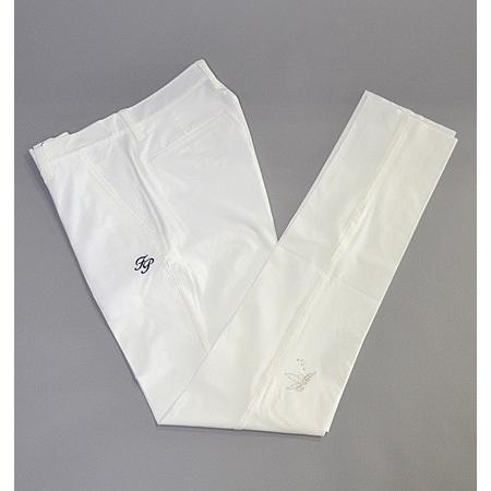 Sale !!! Fairy Powder フェアリーパウダー FP19-1202 Stretch Pants 白い