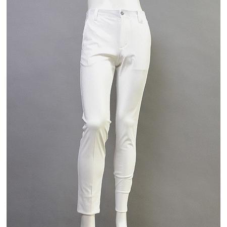 Tranvi トランヴィ TRPTB-015 Grace Cool Stretch Pants 白い
