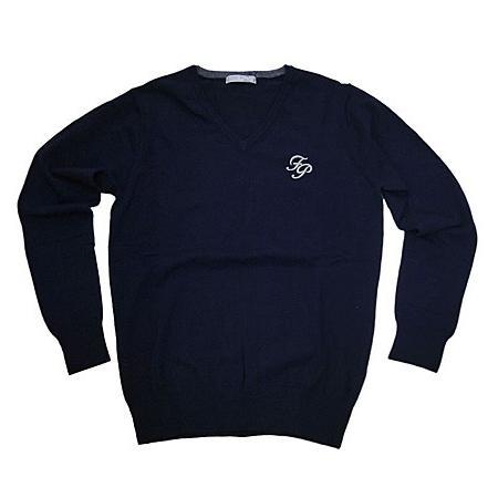 Fairy Powder フェアリーパウダー FP19-5105 V-Neck Sweater Navy