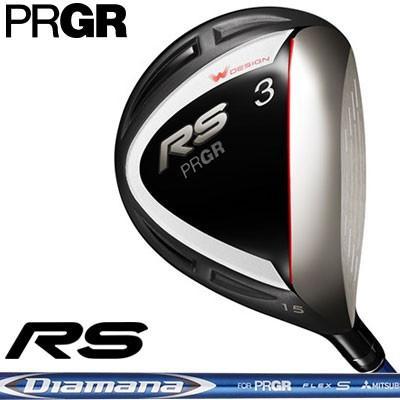 PRGR(プロギア) RS 2018 フェアウェイウッド Diamana for PRGR カーボンシャフト
