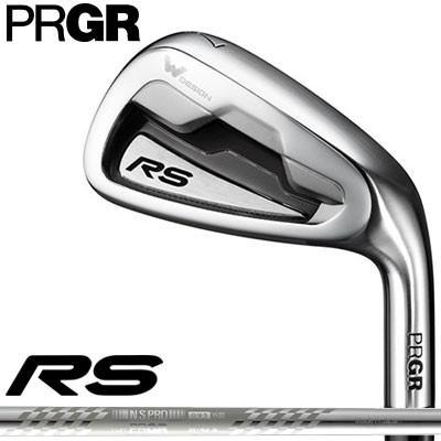 PRGR(プロギア) RS 2018 アイアン 5本セット (#6〜#9、PW) スペックスチールIII Ver.2 スチールシャフト