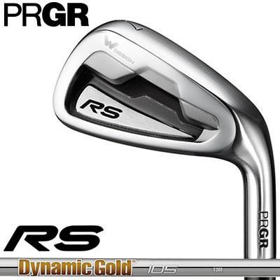 PRGR(プロギア) RS 2018 アイアン 5本セット (#6〜#9、PW) ダイナミックゴールド 105 スチールシャフト