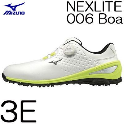 MIZUNO(ミズノ) NEXLITE -ネクスライト- 006 Boa メンズ ゴルフ シューズ 51GM192035 (3E)