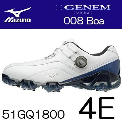 MIZUNO(ミズノ) GENEM -ジェネム- 008 Boa メンズ ゴルフ シューズ 51GQ1800 (4E) ***