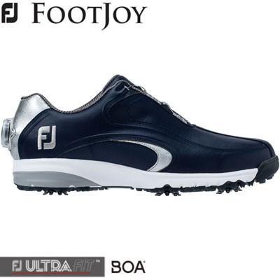 FOOTJOY(フットジョイ) FJ ULTRA FIT XW Boa 2019 メンズ ゴルフシューズ 54190 ネイビー/シルバー (XW)