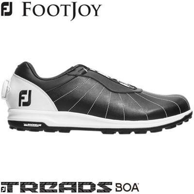 FOOTJOY(フットジョイ) FJ TREADS Boa 2019 メンズ ゴルフシューズ 56215 ブラック/ホワイト (W)