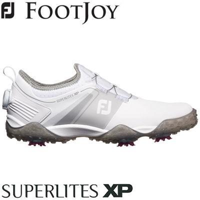 FOOTJOY(フットジョイ) SUPERLITES XP 2019 メンズ ゴルフシューズ 58067 ホワイト/グレー (W)