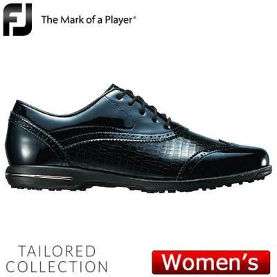 FOOTJOY(フットジョイ) Tailored Collection 2018 レディース ゴルフシューズ 91688 ブラック (W)
