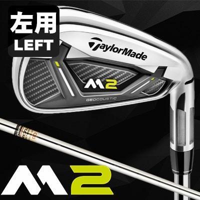 TaylorMade(テーラーメイド) M2 17モデル アイアン 左用-LEFT HAND- 6本セット(#5-PW) REAX90 JP スチールシャフト =