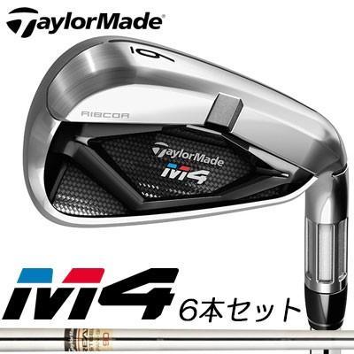 TaylorMade(テーラーメイド) M4 アイアン 6本セット(#5〜PW) REAX90 JP スチールシャフト