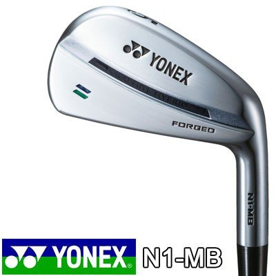 YONEX(ヨネックス) N1-MB フォージドアイアン 6本セット(#5〜9、PW) N.S.PRO MODUS3 SYSTEM3 TOUR125 スチールシャフト