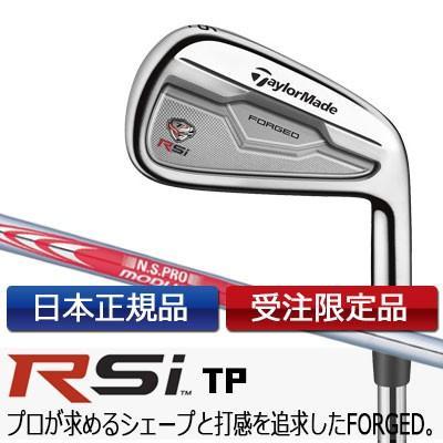 TaylorMade(テーラーメイド) RSi TP アイアン 6本セット(#5-9、PW) N.S. PRO MODUS SYSTEM3 TOUR125 スチールシャフト [日本正規品] =