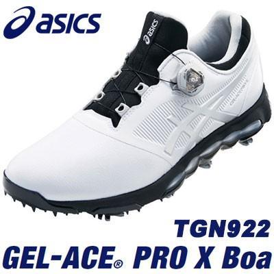 asics(アシックス) GEL-ACE PRO X Boa メンズ ゴルフ シューズ TGN922 ホワイト/シルバー