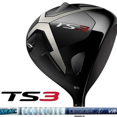 Titleist(タイトリスト) TS3 ドライバー Tour AD VR-6 カーボンシャフト