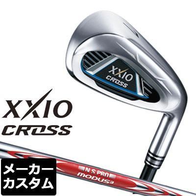 【メーカーカスタム】DUNLOP(ダンロップ) XXIO CROSS アイアン 4本セット(#7-9、PW) N.S.PRO MODUS3 TOUR105 DST スチールシャフト