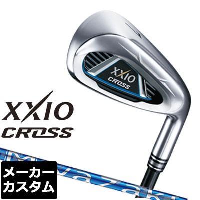 【メーカーカスタム】DUNLOP(ダンロップ) XXIO CROSS アイアン 4本セット(#7-9、PW) Miyazaki for IRON カーボンシャフト