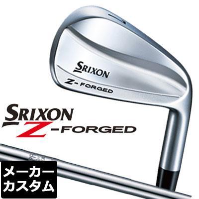 【メーカーカスタム】DUNLOP(ダンロップ) SRIXON -スリクソン- Z FORGED アイアン 6本セット(#5-PW) N.S.PRO 980GH DST スチールシャフト