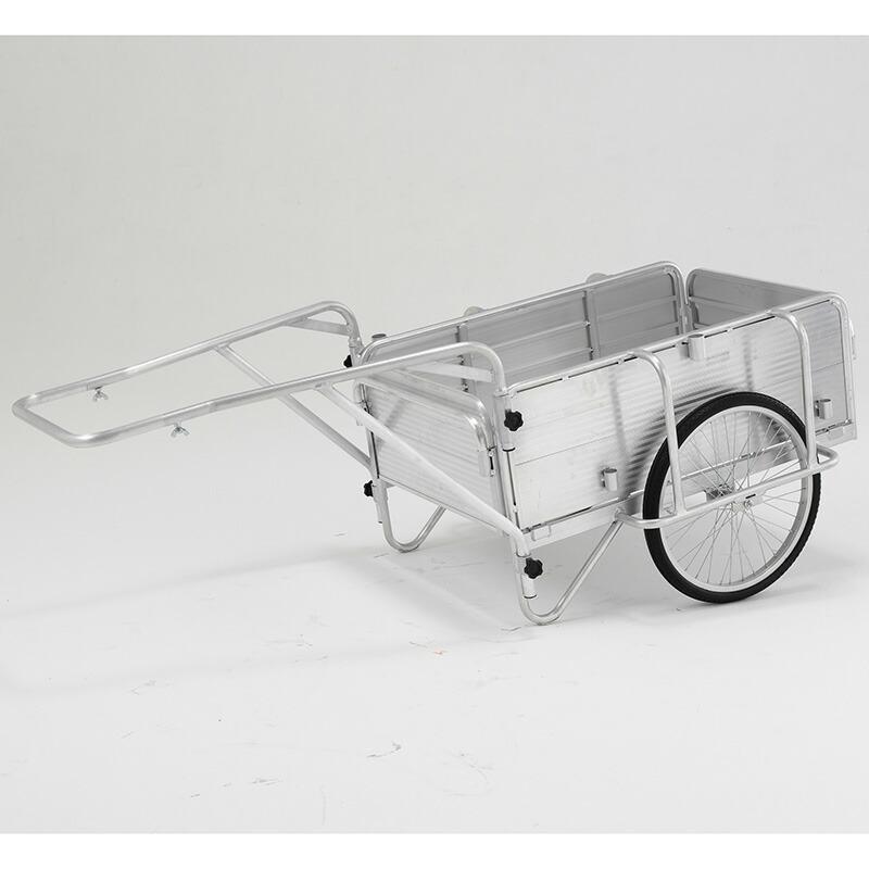 アルインコ SHOWA折りたたみ式リヤカー180kg HKW-180【ハイグレードタイプ】