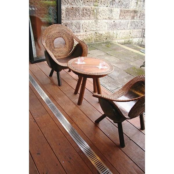 ラタンウッドテーブル3点セット(70047_8SET)