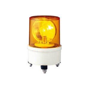 AM-200Y_デジタル回転灯:AM型 電球回転灯 スタンダードタイプ AC200V 黄 (径130mm)_シュナイダー(アローライト)