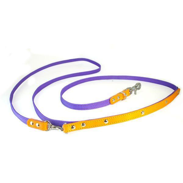 肩がけ リード PPテープ 革:Lead 007 B【色は革10色以上から、PPテープは12色から、長さもオーダーできる!】|extraheavyy