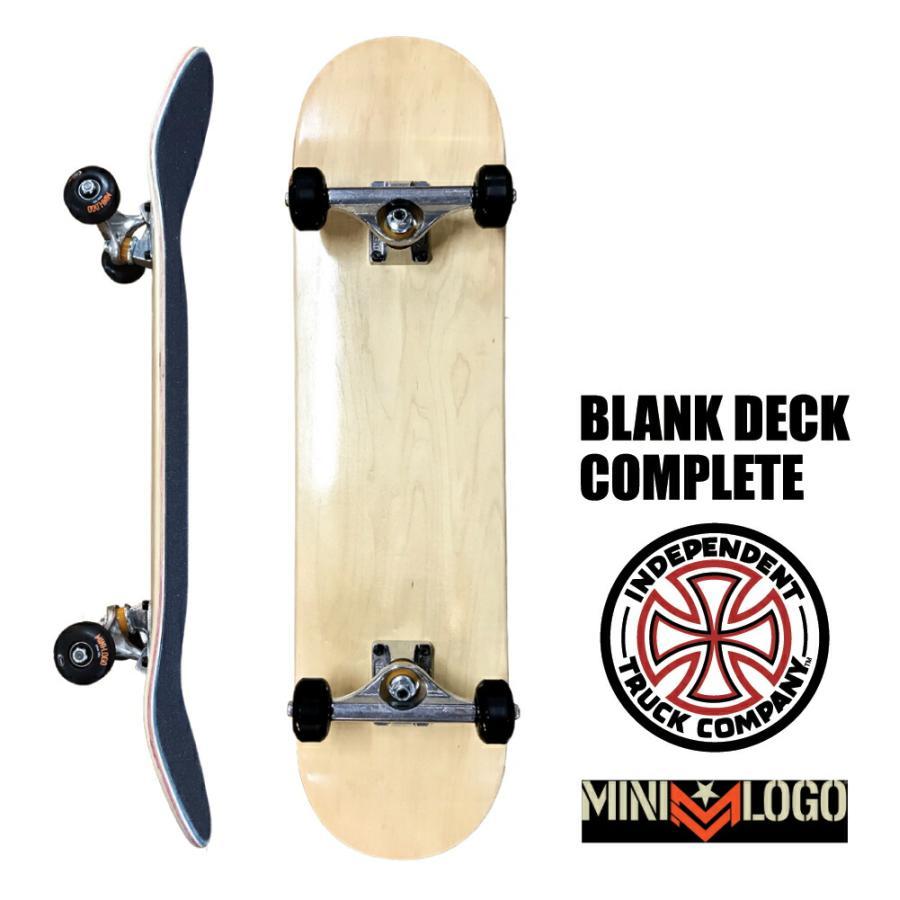 スケートボード コンプリート スケボー デッキ Blk INDEPENDENT MINILOGO SKATEBOARD インディペンデント