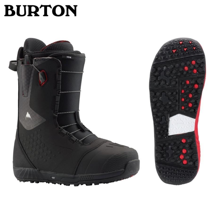 即納OK 20 BURTON ION Boots WideFit 黒/赤 ブーツ バートン アイオン ブーツ ワイドフィットメッシュバック付 正規品