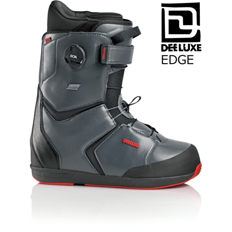 特典付 20 DEELUXE EDGE TF Boots 黒 ディーラックス エッジ サーモインナー スノーブーツ熱成型 メッシュバック付