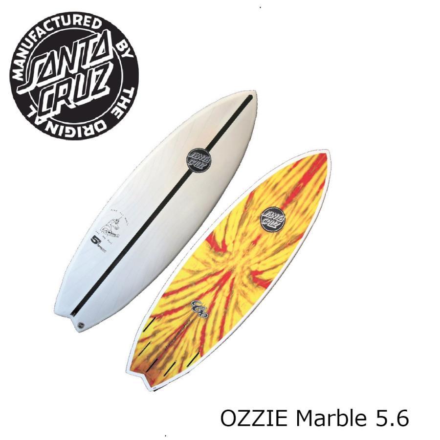 【在庫限り】 SANTA CRUZ OZZIE Marble 5.6 サンタクルーズ 5.6 オジー サンタクルーズ フレックス ニー〜ヘッド OZZIE サーフボード, Lait Nature:ed09d02c --- airmodconsu.dominiotemporario.com
