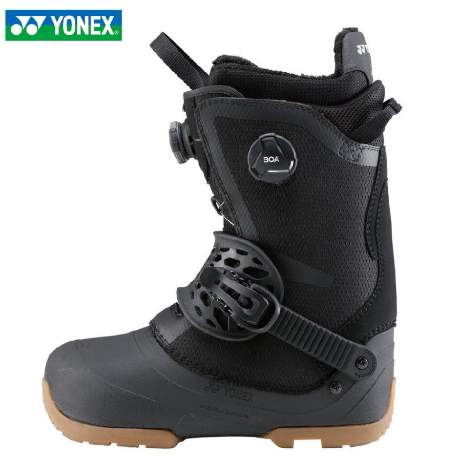 特典付 20 YONEX LAZY MAKER BOA AB Boots ブラック ステップインブーツ ヨネックス レイジー マーカー ボア アキュブレイド ステップイン メッシュバック付