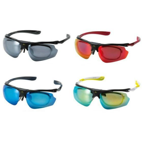 偏光サングラス スポーツ UVカット 偏光度99%以上 インナー付 跳ね上げ