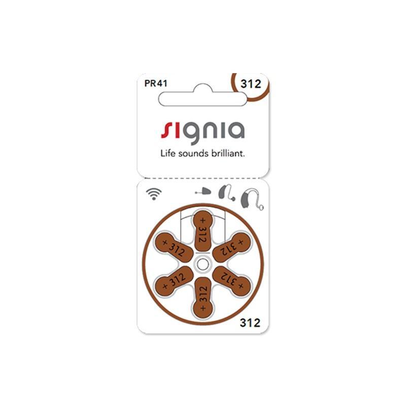 シーメンス シグニア 無水銀電池 PR41(312)|eyesgo
