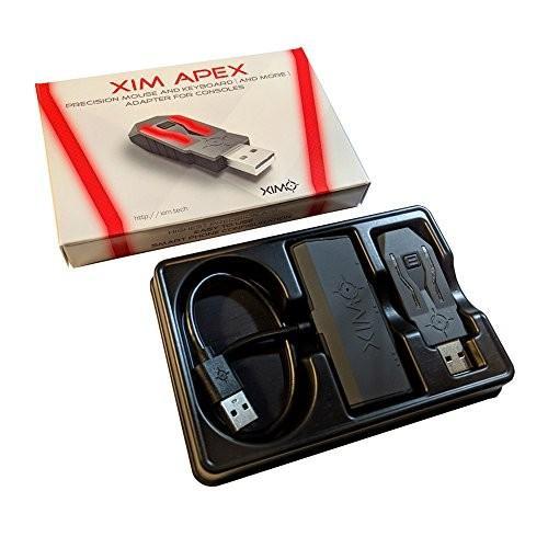XIM APEX PS4/XboxOne/PS3/Xbox360用キーボードマウス接続アダプタ