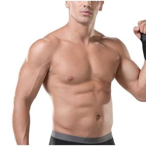 加圧インナー 腹筋 サポーター メンズ 補正下着 着圧ベルト 腹巻き ダイエット  M L|eyz|09