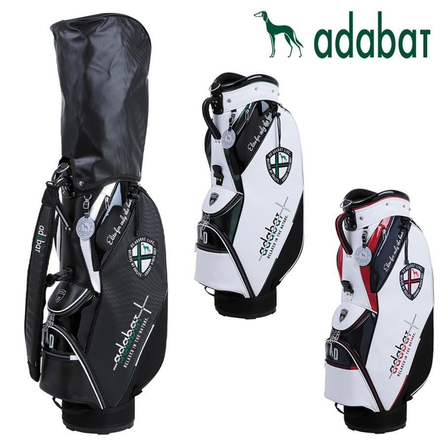 adabat アダバット 日本正規品 税込 軽量スリムデザイン 国際ブランド 2021新製品 メンズキャディバッグ ABC413