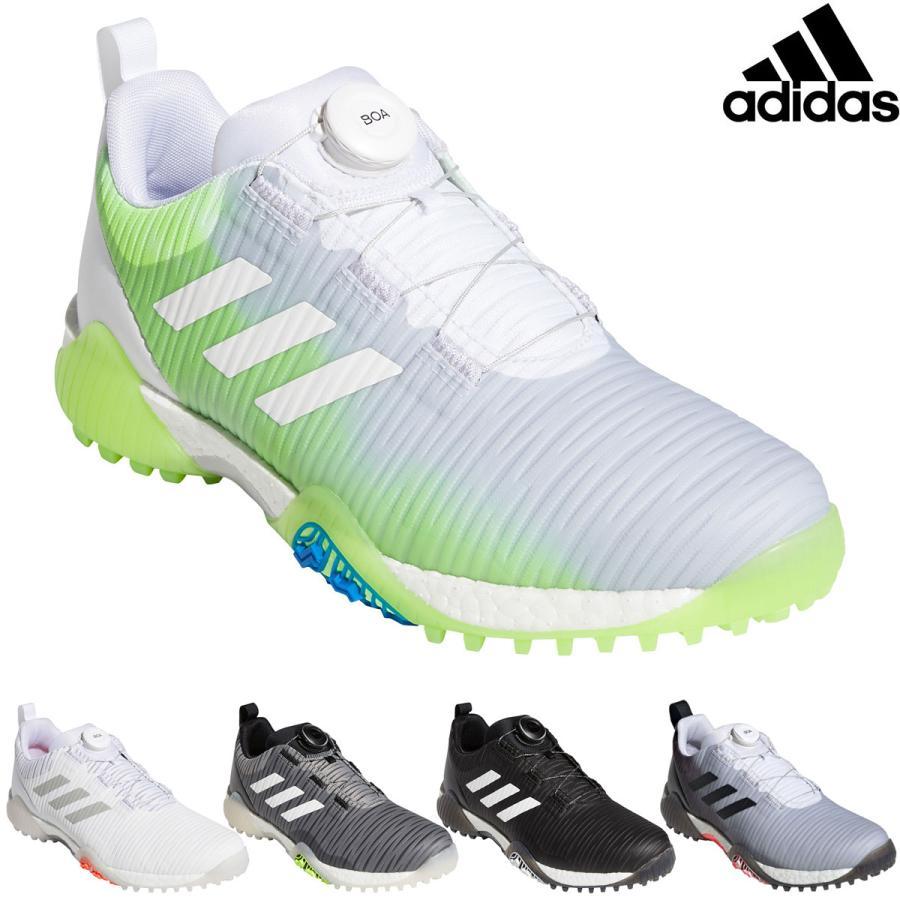 adidas Golf 超人気 アディダスゴルフ 日本正規品 CODECHAOS Boa おすすめ特集 コードカオスボアロウ 2020モデル Low スパイクレスゴルフシューズ KXJ34