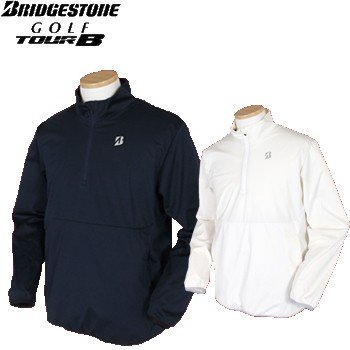 BridgestoneGolf ブリヂストンゴルフ TOUR B 秋冬ウエア 電熱線入りハーフジップブルゾン 57G91D