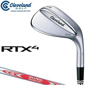 クリーブランドゴルフ日本正規品 RTX4 ウェッジ ツアーサテン仕上げ NSPRO MODUS3 TOUR120スチールシャフト 「RTX4BTSMWG」
