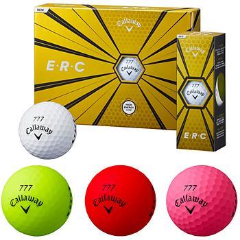 Callaway キャロウェイ 日本正規品 ERC イーアールシー 2019モデル ゴルフボール1ダース 在庫一掃売り切りセール 超特価 12個入 19ERCBALL