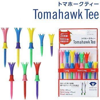 DAIYA GOLF ダイヤゴルフ 買収 日本正規品 Tomahawk Tee トマホークティー リミテッド8P ロング×3本 ショート×2本 日本 TE-021 セミロング×3本