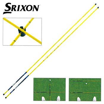 DUNLOP ダンロップ 日本正規品 SRIXON 即納最大半額 ゴルフコンパス ゴルフスイング練習用品 GGF-25302 (人気激安) スリクソン